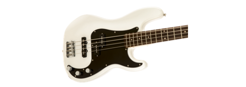 SQUIER PRECISION BASS PJ AFFINITY LRL OWT OLYMPIC WHITE