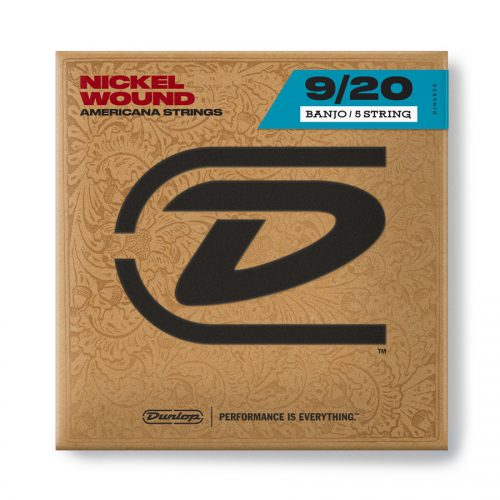 Dunlop DJN0920 Banjo Nickel Wound, Light Set/5