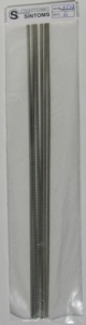 SINTOMS 153058-F-EH - Confezione 6 stecche dritte Tasti pre-tagliati Small per c