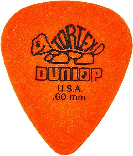 Dunlop 418R Tortex Standard Orange .60