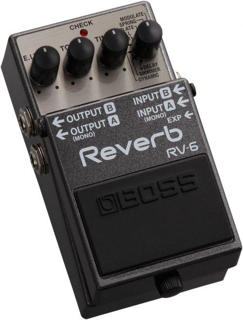 BOSS RV6 REVERB RIVERBERO