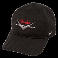 FENDER CAPPELLO BASEBALL HAT CUSTOM SHOP BLACK