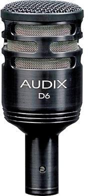 AUDIX MICROFONO D6