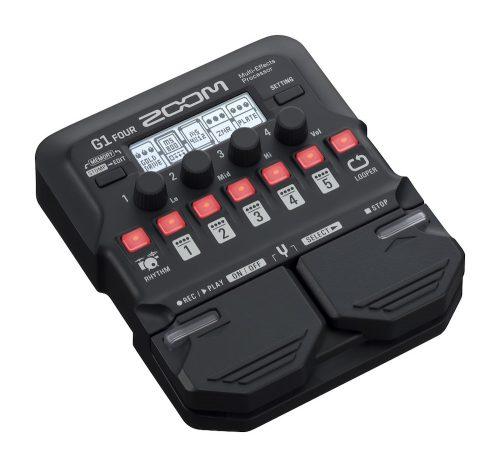 ZOOM G1 FOUR - pedaliera multieffetto, amp-simulator per chitarra