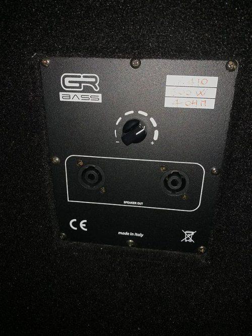 GR BASS GR410 CASSA 4X10 USATO