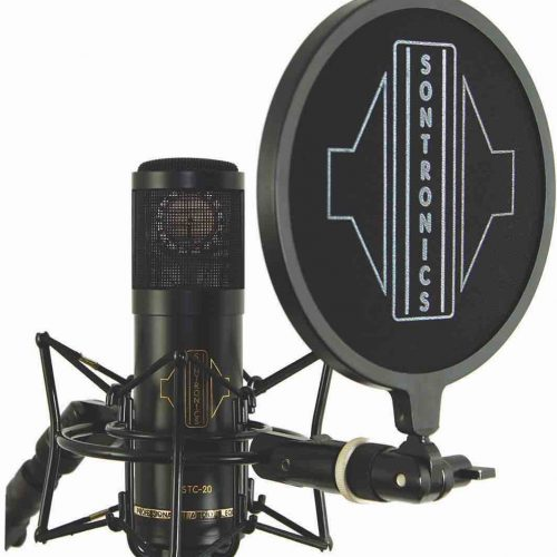 SONTRONICS STC-20 PACK MICROFONO + STAND + ANTIPOP