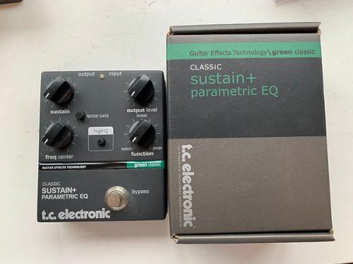 TC ELECTRONIC SUSTAIN + PARAMETRIC EQ USATO