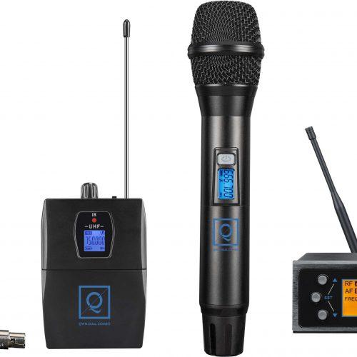 OQAN MICROFONO QWM2 DUAL COMBO (Handheld + Earset) 863- 865