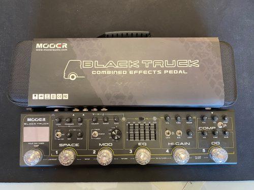 MOOER BLACK TRUCK MULTIEFFETTO PER CHITARRA ROCK/METAL USATO