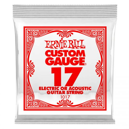Ernie Ball corda singola 1017 Plain Steel .017