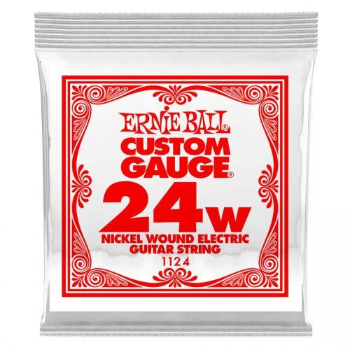 Ernie Ball corda singola 1124 Nickel Wound .024