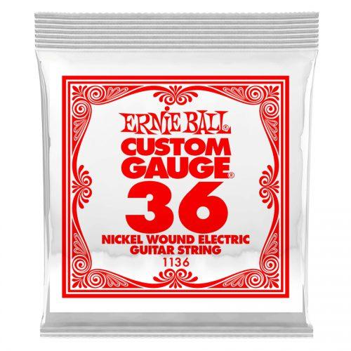 Ernie Ball corda singola 1136 Nickel Wound .036