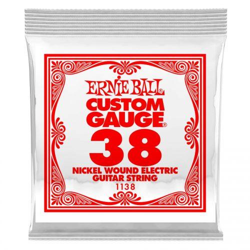 Ernie Ball corda singola 1138 Nickel Wound .038