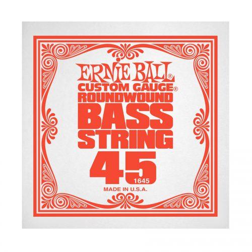 Ernie Ball corda singola 1645 Nickel Wound Bass .045
