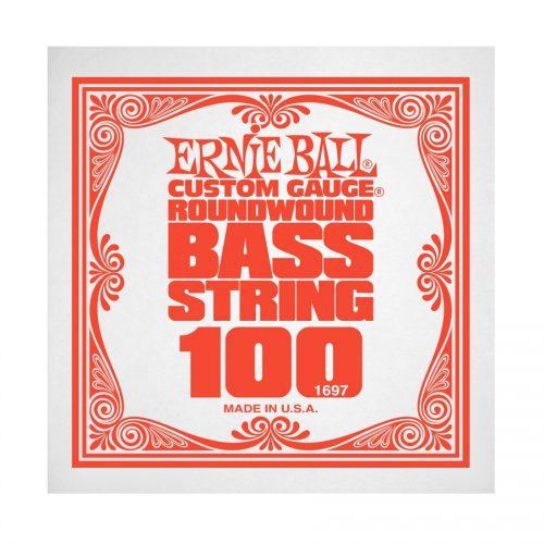 Ernie Ball corda singola 1697 Nickel Wound Bass .100