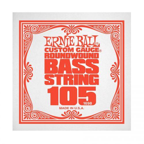 Ernie Ball corda singola 1698 Nickel Wound Bass .105