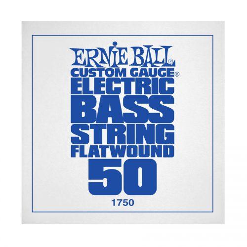 Ernie Ball corda singola 1750 Steel Flatwound Bass .050