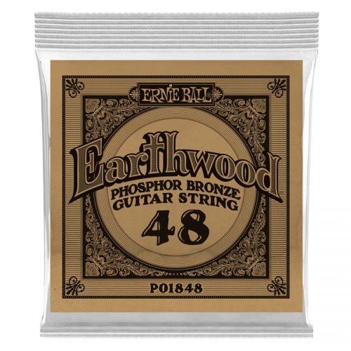 Ernie Ball corda singola 1848 Earthwood Phospor Bronze .048