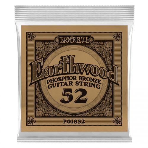 Ernie Ball corda singola 1852 Earthwood Phospor Bronze .052