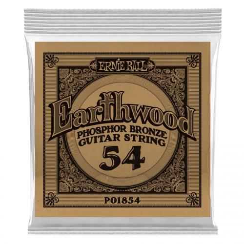 Ernie Ball corda singola 1854 Earthwood Phospor Bronze .054
