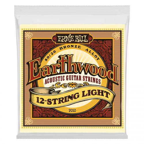 Ernie Ball muta per 12 corde 2010 Earthwood 80/20 Bronze Light 9-46