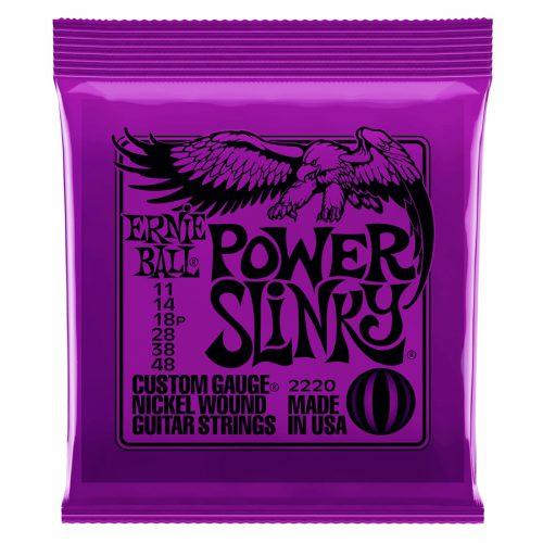 Ernie Ball muta di corde 2220 Nickel Wound Power Slinky 11-48