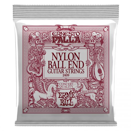Ernie Ball muta di corde 2409 Ernesto Palla Black & Gold Ball End