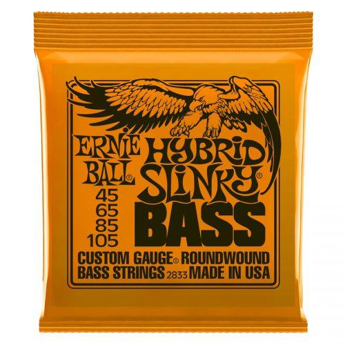 Ernie Ball muta di corde 2833 Nickel Wound Hybrid Slinky 45-105