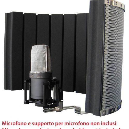 PROEL SCHERMO ANTI RIFLESSO PER MICROFONO