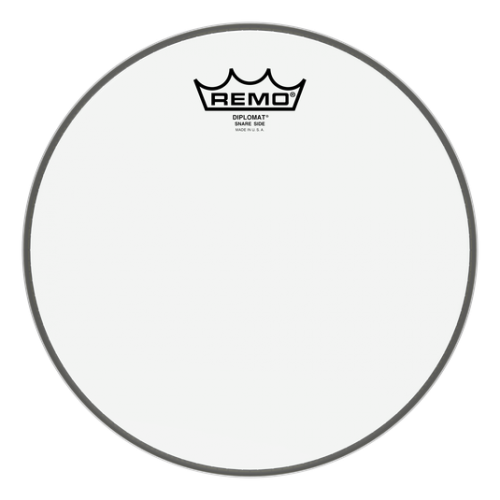 """REMO PELLE DIPLOMAT SNARE HAZY 10"""""""