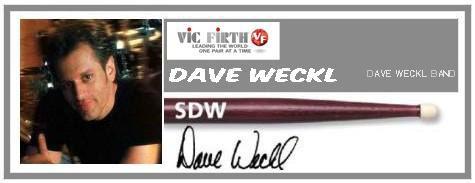 VIC FIRTH SDW DAVE WECKLE BACCHETTE