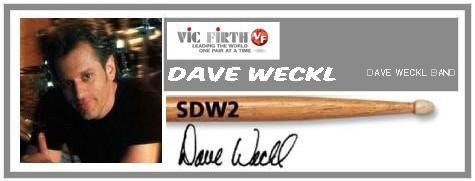 VIC FIRTH SDW2 EVOLUTION DAVE WECKL EVOLUTION BACCHETTE