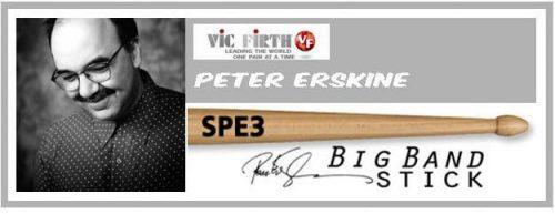 VIC FIRTH BACCHETE PETER ERSKINE BIG BAND