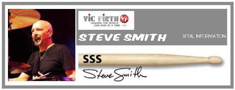 VIC FIRTH SSS STEVE SMITH BACCHETTE