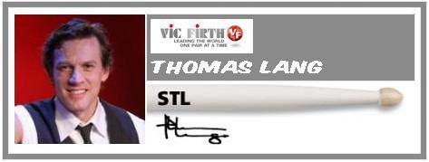 VIC FIRTH BACCHETTE THOMAS LANG