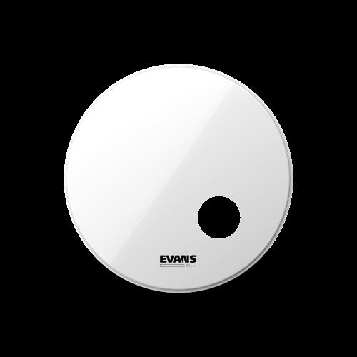 "EVANS PELLE EQ3 18"" RISONANTE SMOOTH WHITE"