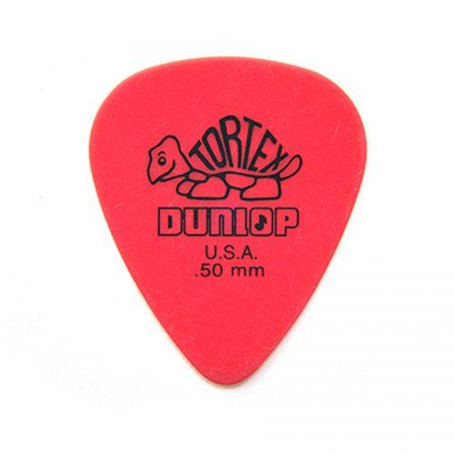 Dunlop 418R Tortex Standard Red .50