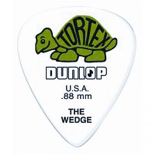 Dunlop 424R Tortex Wedge Green .88