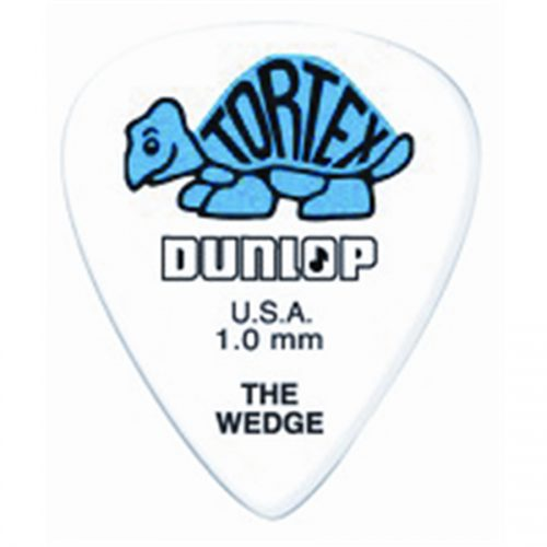Dunlop 424R Tortex Wedge Blue 1.0
