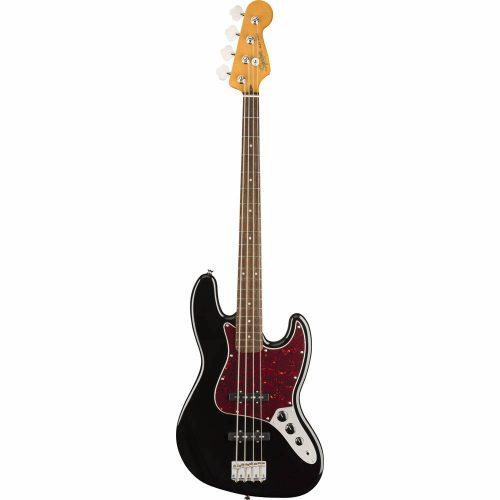 Squier Classic Vibe '60s Jazz Bass, Laurel Fingerboard, Black