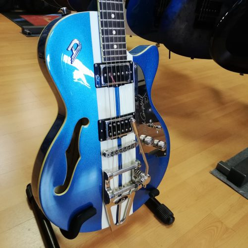 DUESENBERG SEMI HOLLOW DTV-MC MIKE CAMPBELL EX DEMO