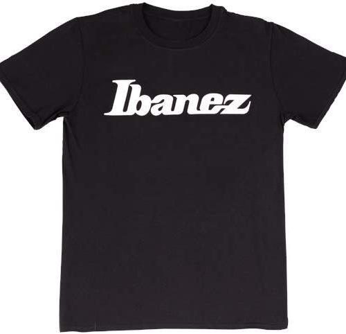 IBANEZ MAGLIETTA T-SHIRT NERA CON LOGO XL