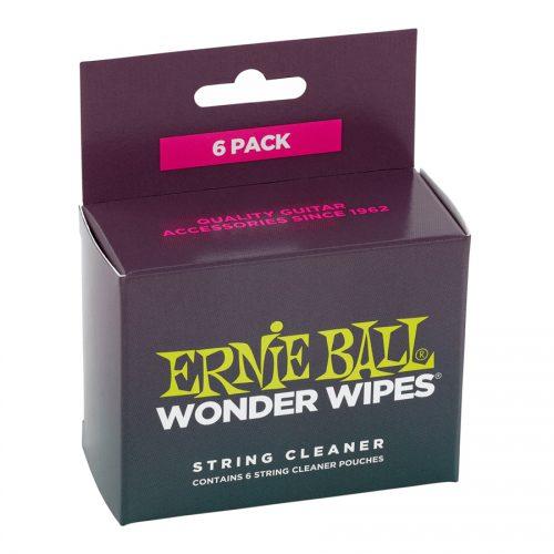 Ernie Ball Wonder Wipes String Cleaner Confezione da 6