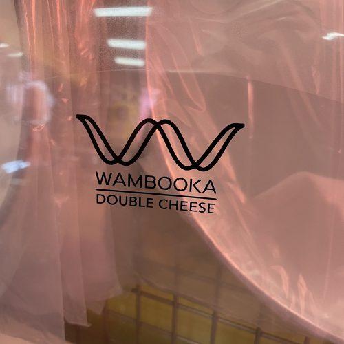 "WAMBOOKA PELLE PER GRANCASSA 22"" DOUBLE CHEESE TRASPARENTE"