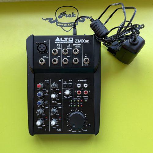 ALTO MIXER ZMX52 MIXER ANALOGICO 5 CANALI USATO