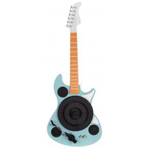 """Beatfoxx GT-26 """"Rory"""" Giradischi a forma di chitarra per montaggio a parete con"""