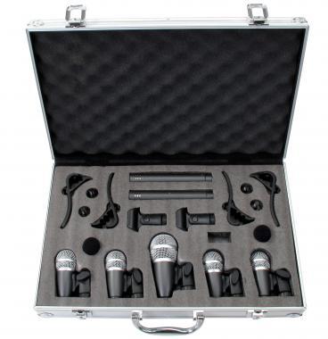 Pronomic Set Microfoni per batteria DMS-7