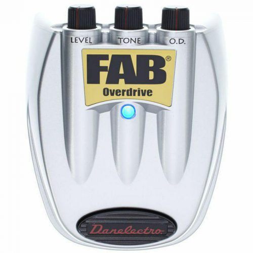 DANELECTRO PEDALE FAB D2 OVERDRIVE