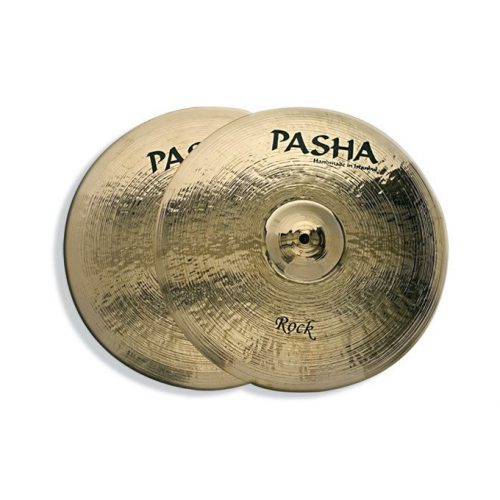 """PASHA HI HAT 14"""" BRILLIANT ROCK"""