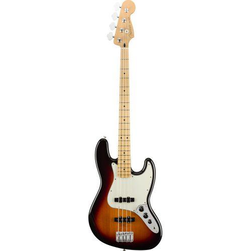 Fender Player Jazz Bass, Maple Fingerboard, 3 Color Sunburst